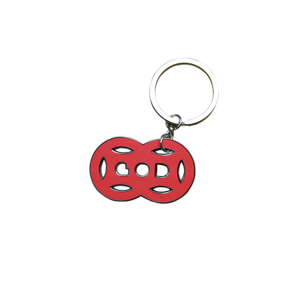'Double Coin' Keychain