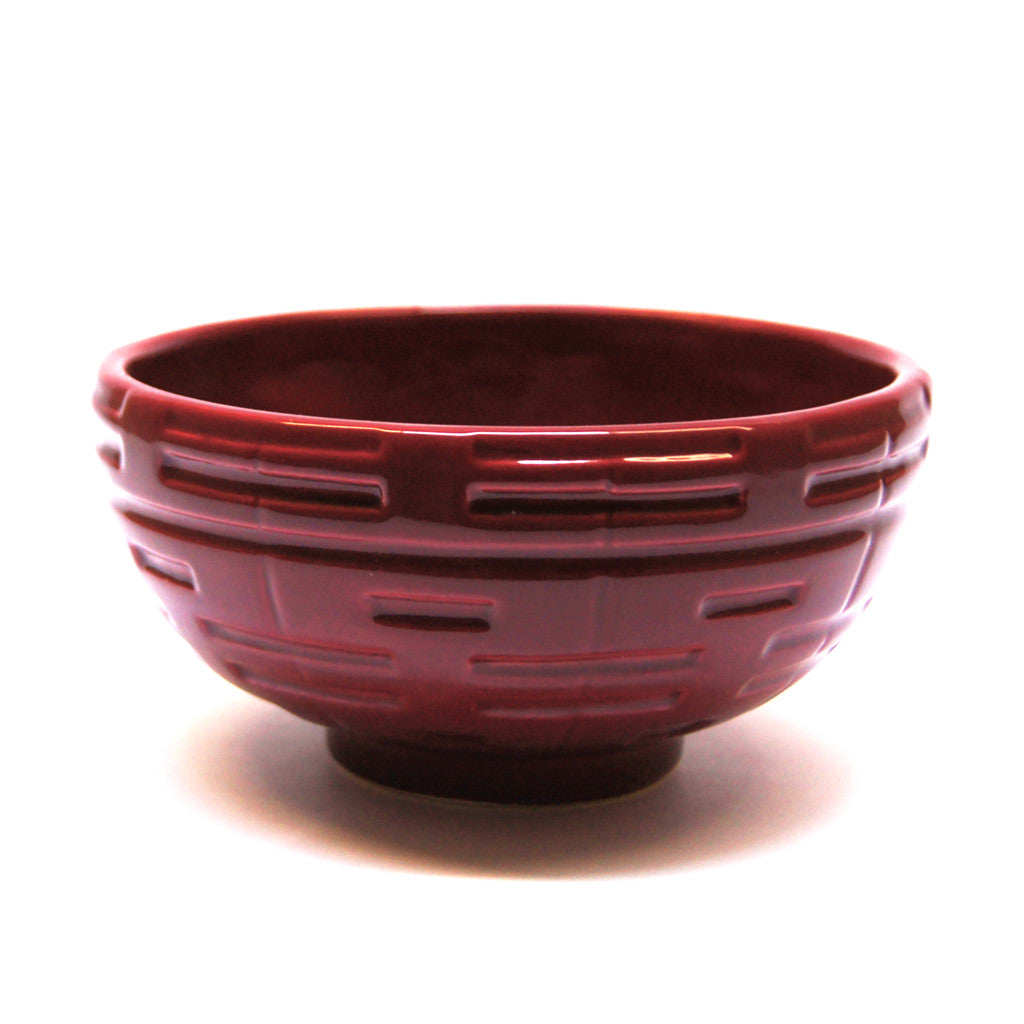"'Double Happiness' dinnerware - 5"" rice bowl - Goods of Desire"