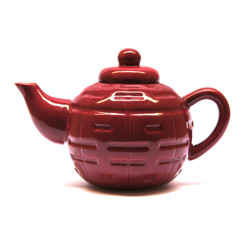 'Double Happiness' dinnerware - tea pot - Goods of Desire