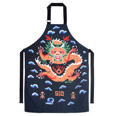 'Digital Dragon' apron - Goods of Desire