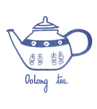Load image into Gallery viewer, Blue Teapot Tea Towel by Zest of Asia