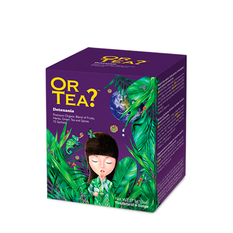 Or Tea? Detoxania | Fruit, Herbs and Green Tea Blended Tea Sachets