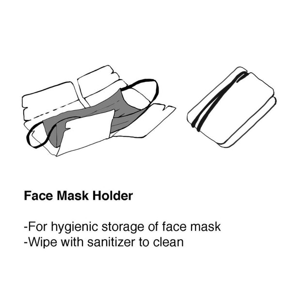 """Yaumati Sketch"" Mask Holder"
