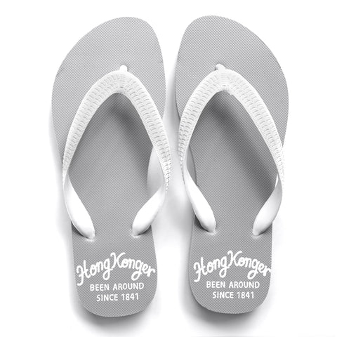 'HongKonger' Flip flops (grey) | Goods of Desire