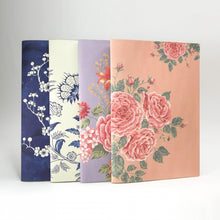 Load image into Gallery viewer, Daycraft Flower Wow Envelope Folder in Ceramic Blue
