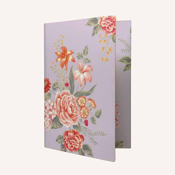 Daycraft Flower Wow Envelope Folder in Mauve