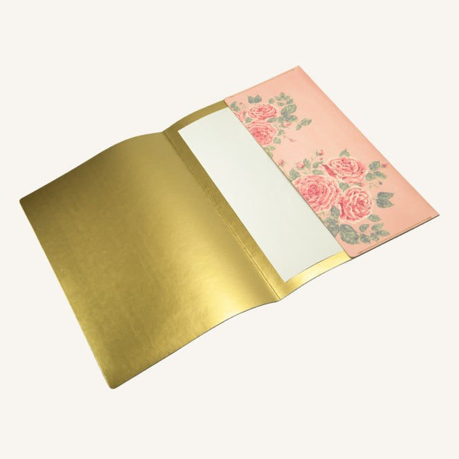 Daycraft Flower Wow Envelope Folder in Tea Rose