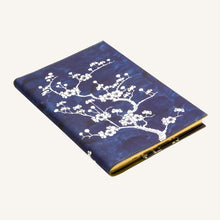 Load image into Gallery viewer, Daycraft Flower Wow Lined Notebook in Ceramic Blue