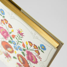 Load image into Gallery viewer, Daycraft Flower Wow Lined Notebook in Kalocsa Marigolds