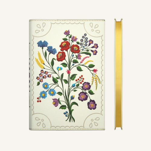 Daycraft Flower Wow Lined Notebook in Kalocsa Violets