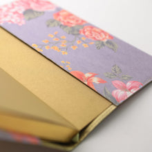 Load image into Gallery viewer, Daycraft Flower Wow Lined Notebook in Mauve