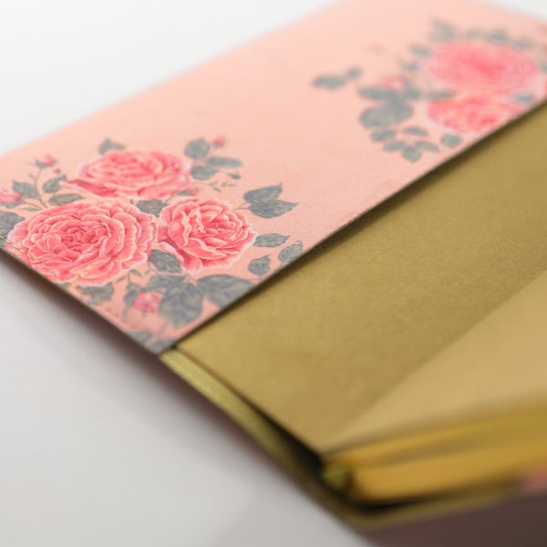 Daycraft Flower Wow Lined Notebook in Tea Rose