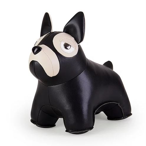 French Bulldog Bookend in Black