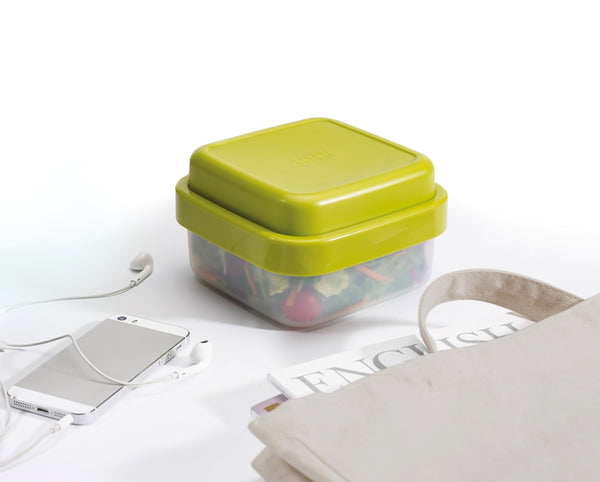 GoEat Compact 2-in-1 Salad Box, Green by Joseph Joseph