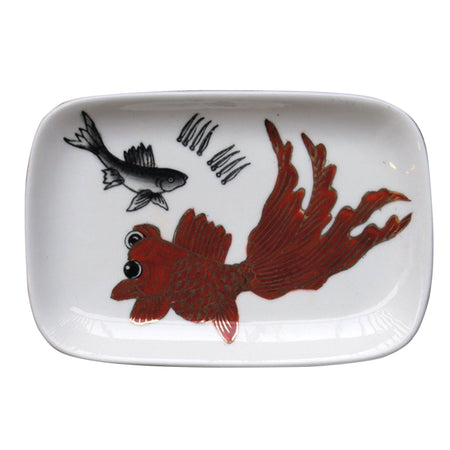 'Hollywood Road' handpainted soap dish