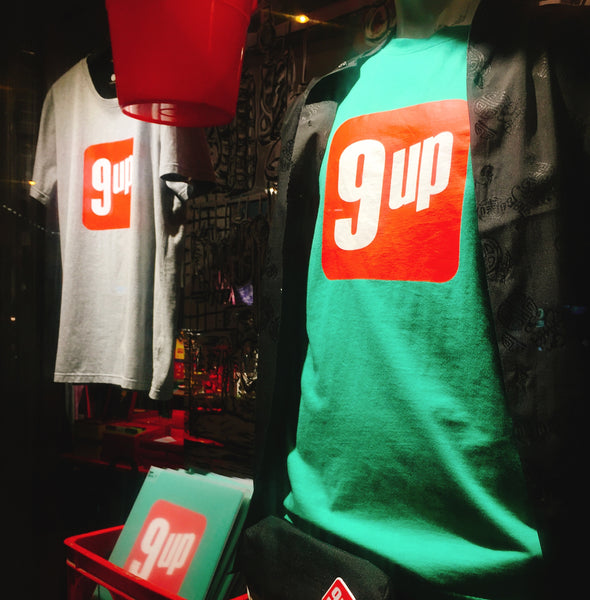 '9up' tee (mint green), T-Shirt, Goods of Desire, Goods of Desire