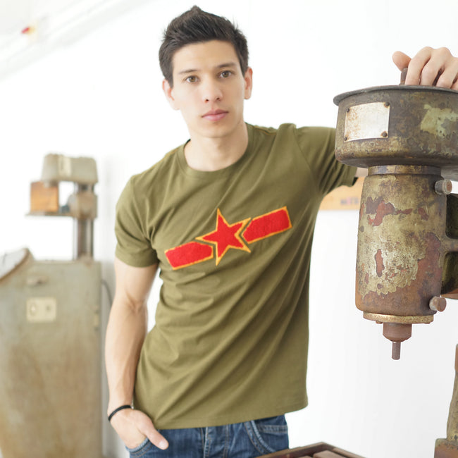 'Chinese Air Force' T-Shirt (Green), T-shirt, Goods of Desire, Goods of Desire
