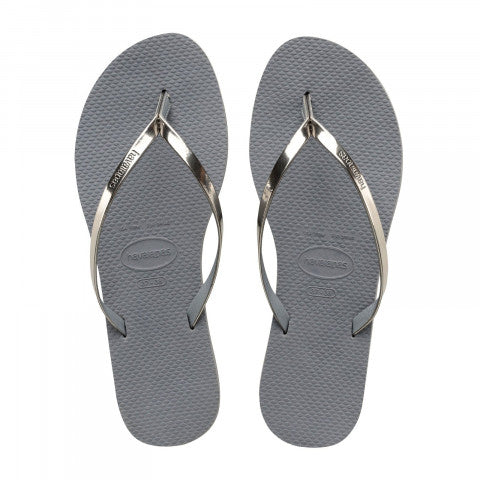 Havaianas You Metallic, Steel Grey
