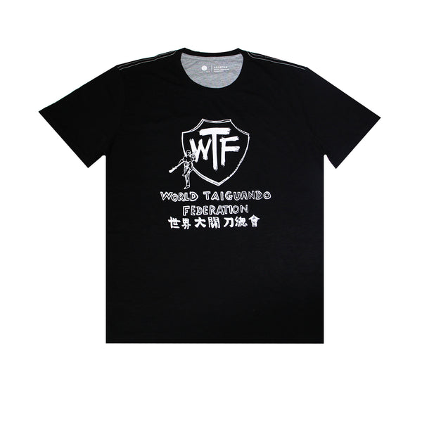 'World Taiguando Federation' Tee, Black
