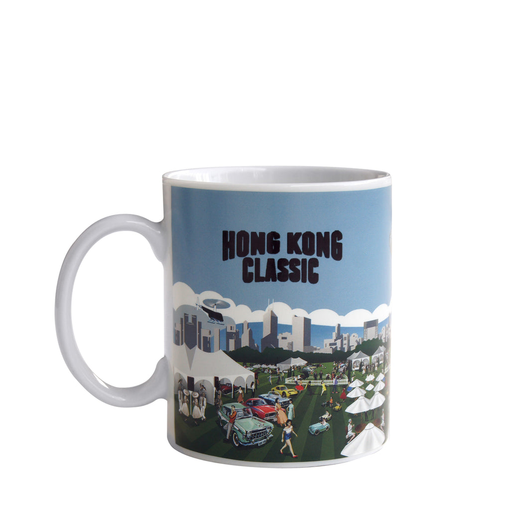 'Hong Kong Classic' heat sensitive mug
