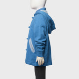 'Lai On' kids hoodie (blue heather)