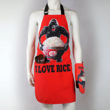 Load image into Gallery viewer, 'King Kong Rice' apron