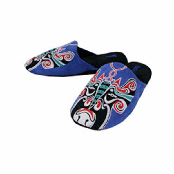 Betta 'Chinese Opera Man' slippers (blue)