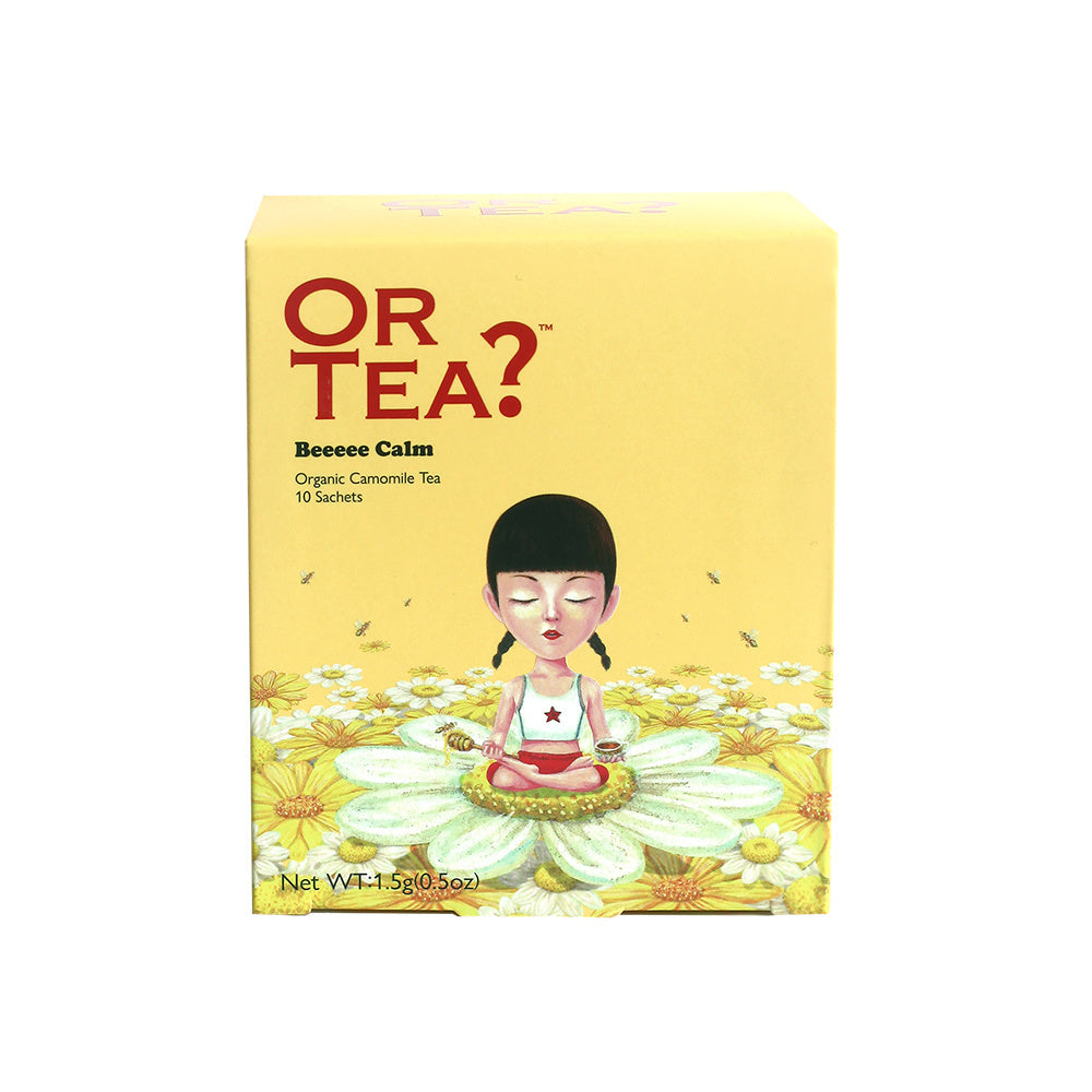 Or Tea? Organic Beeeee Calm - Chamomile Infusion, 10 Sachet Box
