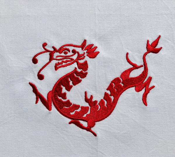 Red Dragon Tea Towel by Zest of Asia