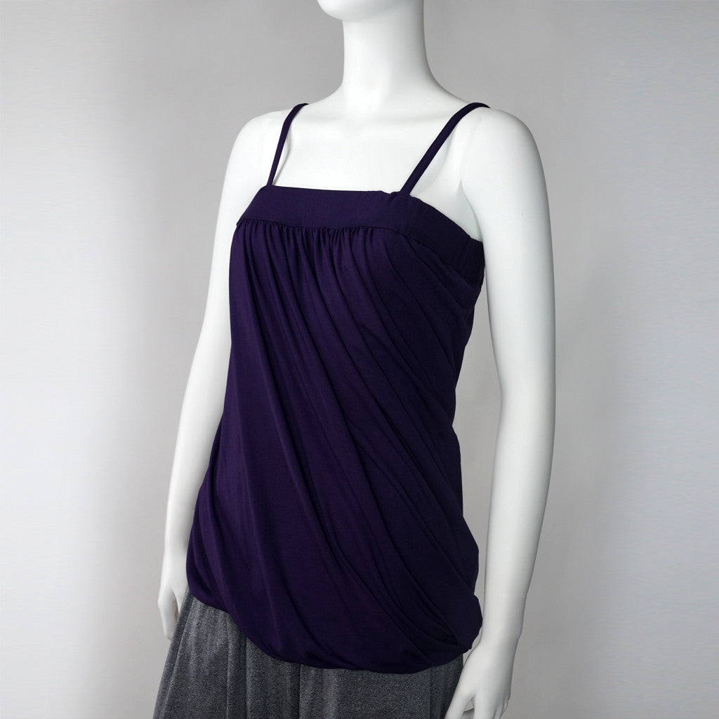 Goods of Desire Twisted camisole (purple)