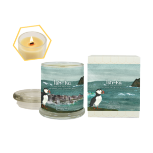 Ish-Ka Beeswax Jar Candle by Carroll&Chan