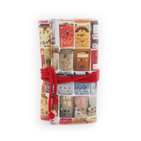 'Letterbox' jewellery travel roll holder
