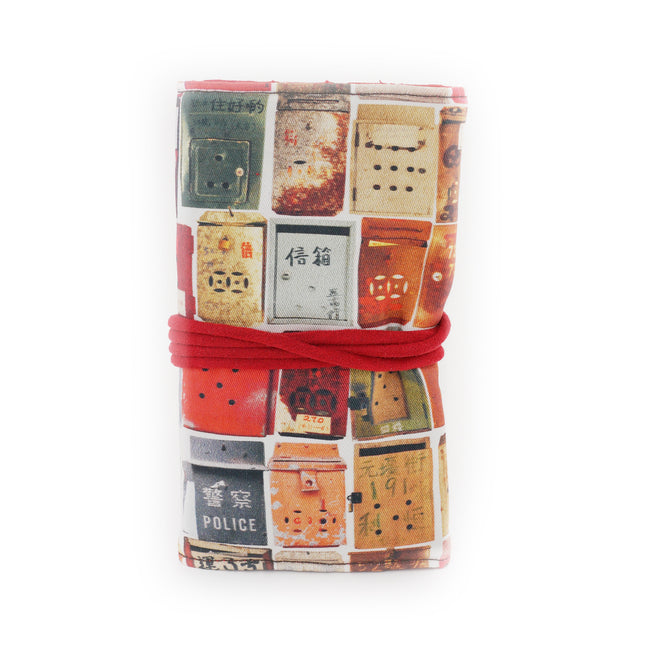 'Letterbox' jewellery travel roll