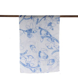 'Kapok Tree' cotton scarf (periwinkle)