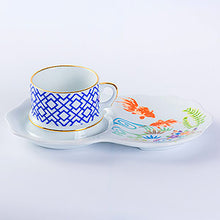 Load image into Gallery viewer, ByLeona Fishes, Cup & Saucer Set