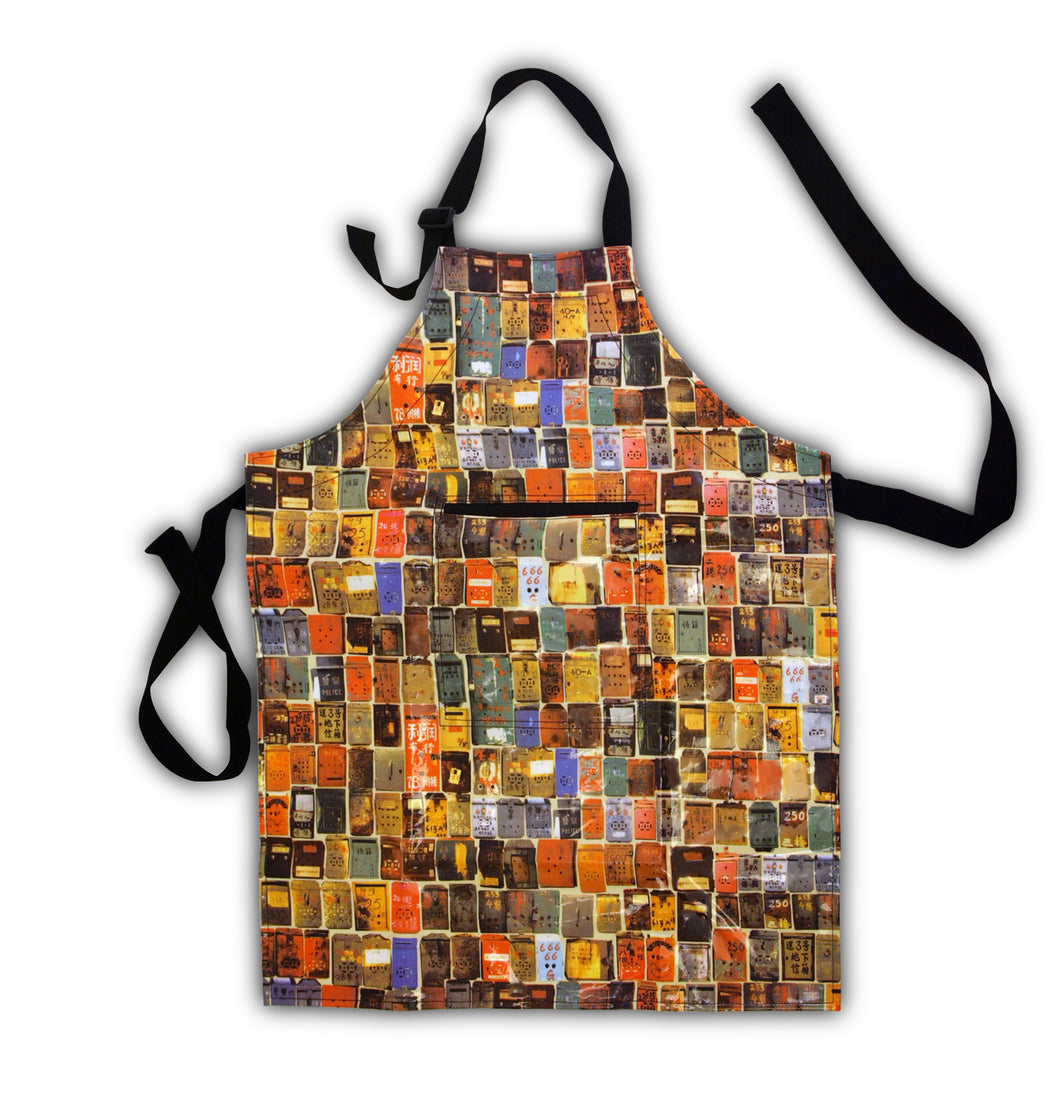 'LETTERBOX' Apron, Multi Colour