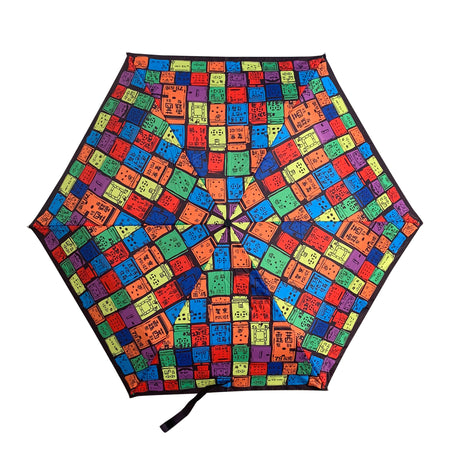 'Luggage Tags' Ultralight Umbrella