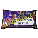 'Lan Kwai Fong' cushion with filling