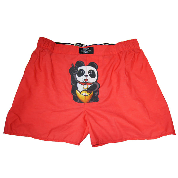 'Lucky Panda' Men Boxer Shorts