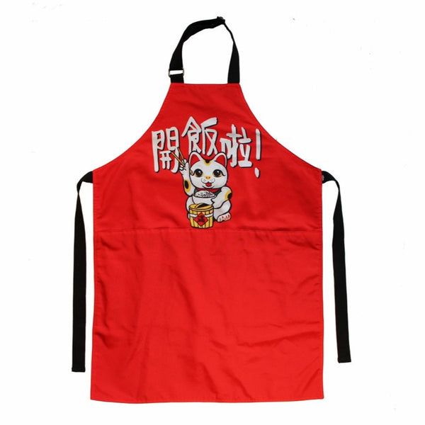 'Lucky Cat' apron