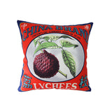 'Vintage Brands' cushion cover - China Brand (45 x 45 cm)