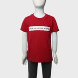 Kids 'Made in Hong Kong' tee (Dark Red) | Goods of Desire