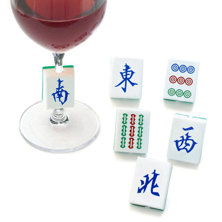 'Mahjong' wine markers (winds)