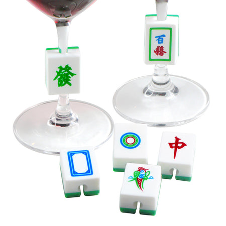 'Hong Kong Street Signs' wine markers - 'Districts' (double-sided)