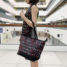 Load image into Gallery viewer, 'Black Mahjong' Tote