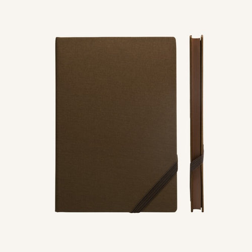 Daycraft Make My Day lined notebook A6 (brown)