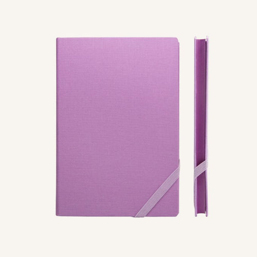 Daycraft Make My Day lined notebook A5 (purple)