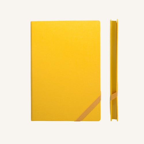 Daycraft Make My Day lined notebook A6 (yellow)