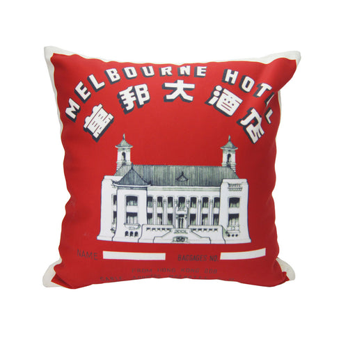 'Melbourne Hotel' cushion cover (45 x 45 cm), Homeware, Goods of Desire, Goods of Desire