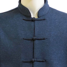 Load image into Gallery viewer, Knot Button Jacket, Slate Blue
